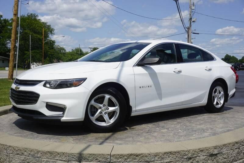 2017 Chevrolet Malibu for sale at Platinum Motors LLC in Heath OH