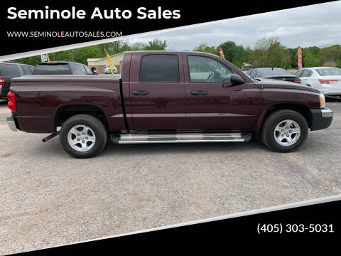 2005 Dodge Dakota for sale at Seminole Auto Sales in Seminole OK