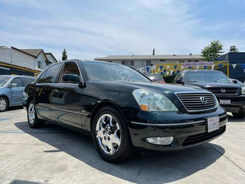 2001 Lexus LS 430 for sale at FJ Auto Sales North Hollywood in North Hollywood CA