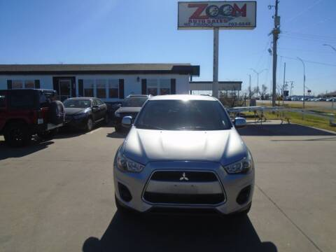 2013 Mitsubishi Outlander Sport for sale at Zoom Auto Sales in Oklahoma City OK