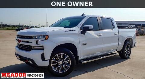 2021 Chevrolet Silverado 1500 for sale at Meador Dodge Chrysler Jeep RAM in Fort Worth TX