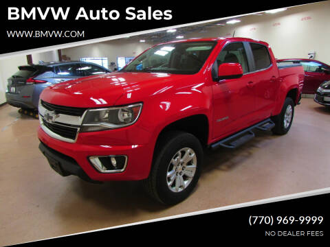 2018 Chevrolet Colorado for sale at BMVW Auto Sales - Trucks and Vans in Union City GA
