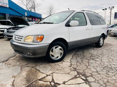 2002 Toyota Sienna for sale at Capital Motors in Raleigh NC