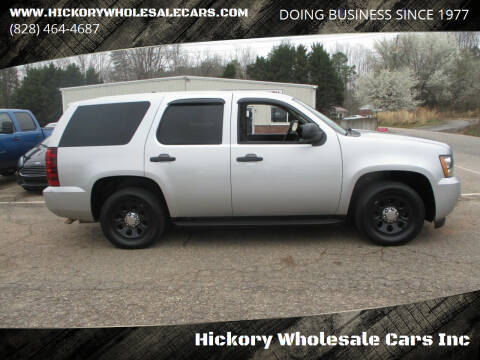 2012 Chevrolet Tahoe for sale at Hickory Wholesale Cars Inc in Newton NC