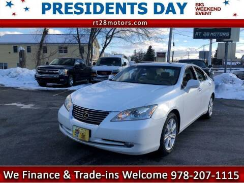 2007 Lexus ES 350 for sale at RT28 Motors in North Reading MA