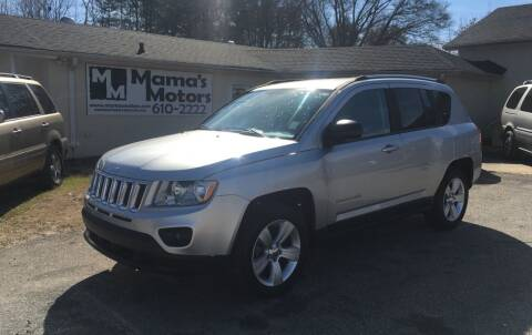 2011 Jeep Compass for sale at Mama's Motors in Greer SC