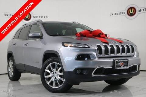 2014 Jeep Cherokee for sale at INDY'S UNLIMITED MOTORS - UNLIMITED MOTORS in Westfield IN