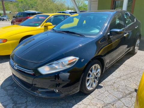 2015 Dodge Dart for sale at PIONEER USED AUTOS & RV SALES in Lavalette WV
