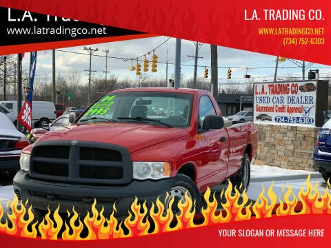 2004 Dodge Ram Pickup 1500 for sale at L.A. Trading Co. in Woodhaven MI