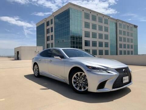 2018 Lexus LS 500 for sale at SIGNATURE Sales & Consignment in Austin TX