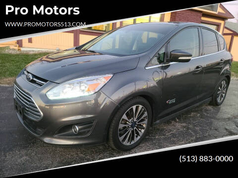 2017 Ford C-MAX Energi for sale at Pro Motors in Fairfield OH