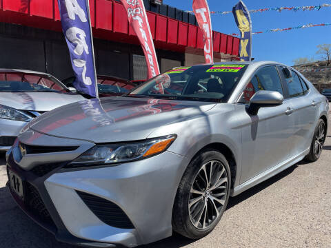 2019 Toyota Camry for sale at Duke City Auto LLC in Gallup NM