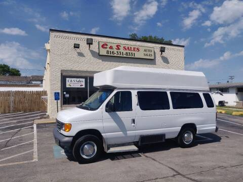 2006 Ford E-Series Cargo for sale at C & S SALES in Belton MO