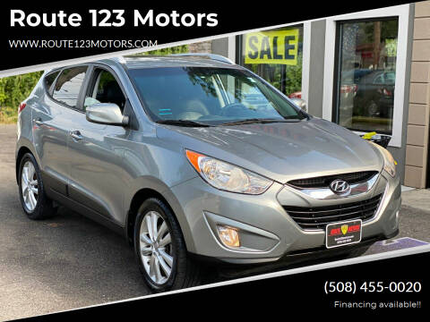 2012 Hyundai Tucson for sale at Route 123 Motors in Norton MA