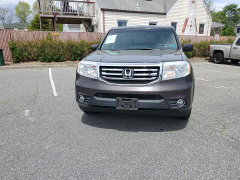 2012 Honda Pilot for sale at RMB Auto Sales Corp in Copiague NY