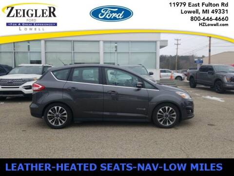 2018 Ford C-MAX Hybrid for sale at Zeigler Ford of Plainwell- Jeff Bishop in Plainwell MI