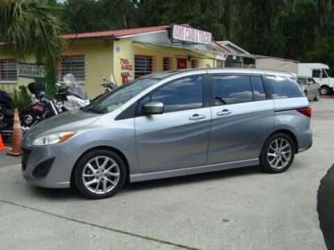2012 Mazda MAZDA5 for sale at VANS CARS AND TRUCKS in Brooksville FL