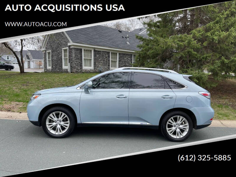 2010 Lexus RX 450h for sale at AUTO ACQUISITIONS USA in Eden Prairie MN