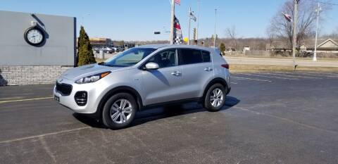 2017 Kia Sportage for sale at SINDIC MOTORCARS INC in Muskego WI