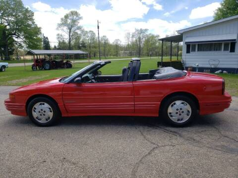 1992 Oldsmobile Cutlass Supreme for sale at Larrys Used Cars in Hartford MI