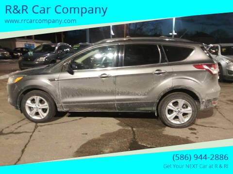 2013 Ford Escape for sale at R&R Car Company in Mount Clemens MI