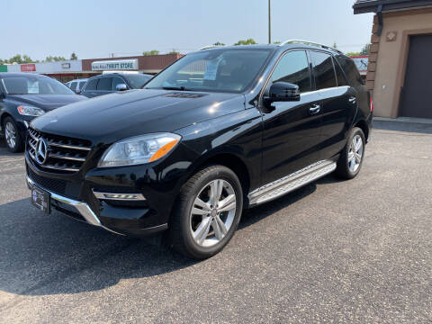 2015 Mercedes-Benz M-Class for sale at Atlas Auto in Grand Forks ND