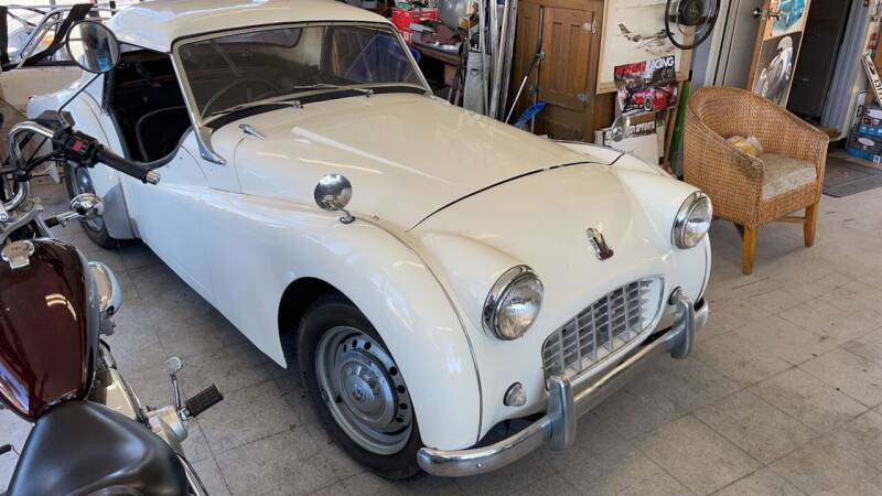 1957 Triumph TR3 for sale at Dodi Auto Sales in Monterey CA