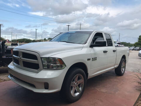2013 RAM Ram Pickup 1500 for sale at Texas Truck Sales in Dickinson TX
