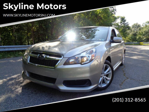 2014 Subaru Legacy for sale at Skyline Motors in Ringwood NJ