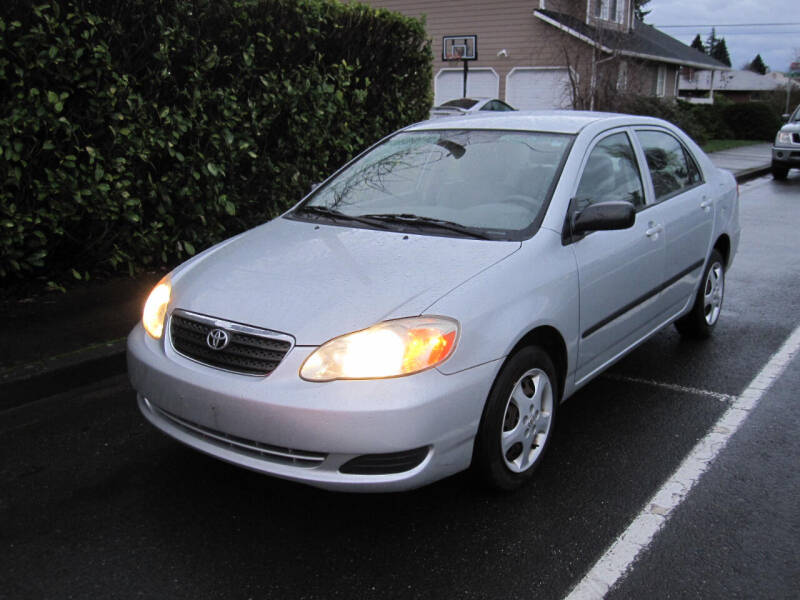 2005 Toyota Corolla for sale at All About Cars in Marysville-Washington State WA