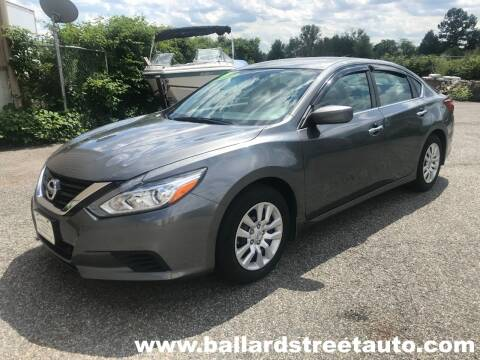 2017 Nissan Altima for sale at Ballard Street Auto in Saugus MA