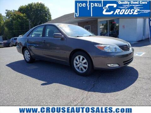 2003 Toyota Camry for sale at Joe and Paul Crouse Inc. in Columbia PA