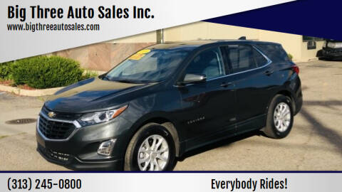 2018 Chevrolet Equinox for sale at Big Three Auto Sales Inc. in Detroit MI
