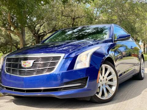 2015 Cadillac ATS for sale at HIGH PERFORMANCE MOTORS in Hollywood FL
