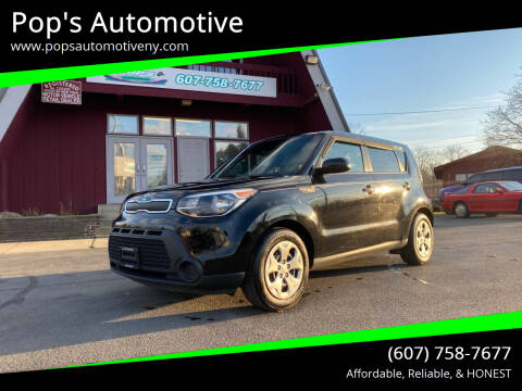 2014 Kia Soul for sale at Pop's Automotive in Homer NY