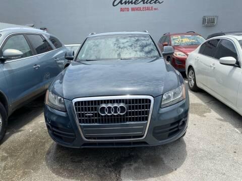 2011 Audi Q5 for sale at America Auto Wholesale Inc in Miami FL