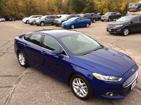 2013 Ford Fusion for sale at MOTORS N MORE in Brainerd MN