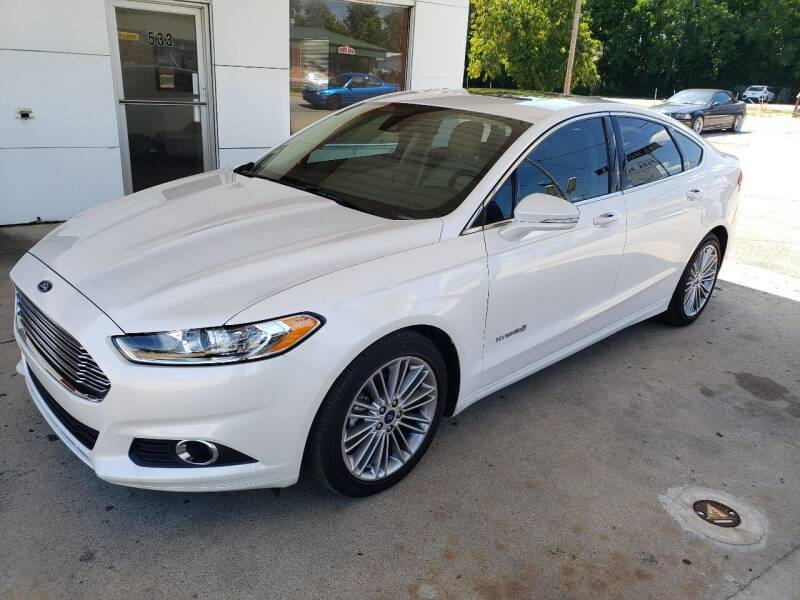 2013 Ford Fusion Hybrid for sale in Brownsburg, IN