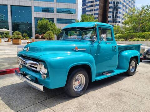 1956 Ford F100 BIG WINDOW for sale at Vintage Car Collector in Glendale CA
