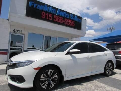 2017 Honda Civic for sale at Franklin Auto Sales in El Paso TX