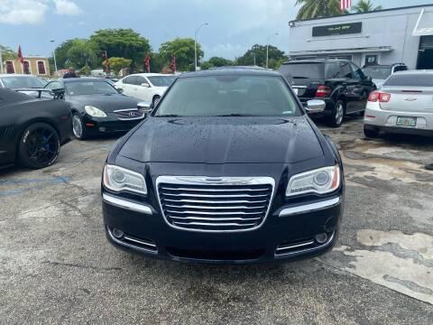 2012 Chrysler 300 for sale at America Auto Wholesale Inc in Miami FL