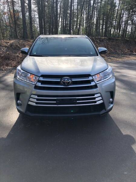 2017 Toyota Highlander for sale at DON'S AUTO SALES & SERVICE in Belchertown MA