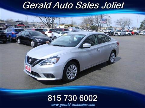 2017 Nissan Sentra for sale at Gerald Auto Sales in Joliet IL