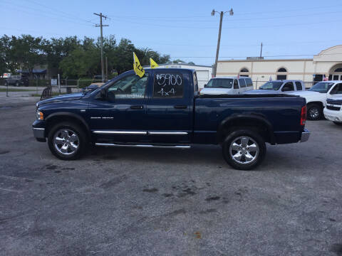 2005 Dodge Ram Pickup 1500 for sale at Second 2 None Auto Center in Naples FL