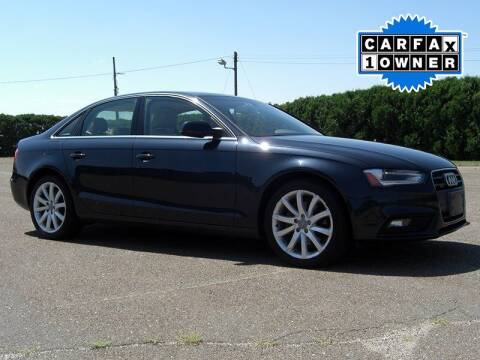 2013 Audi A4 for sale at Atlantic Car Company in East Windsor CT