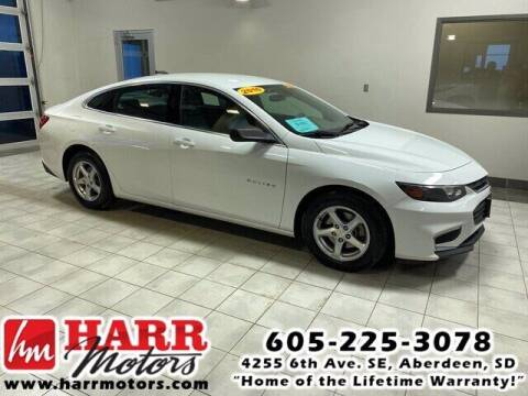 2016 Chevrolet Malibu for sale at Harr's Redfield Ford in Redfield SD