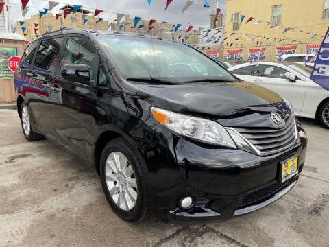 2012 Toyota Sienna for sale at Elite Automall Inc in Ridgewood NY