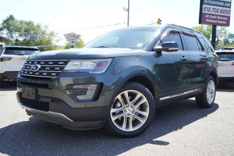 2016 Ford Explorer for sale at ELITE AUTO in Saint Paul MN