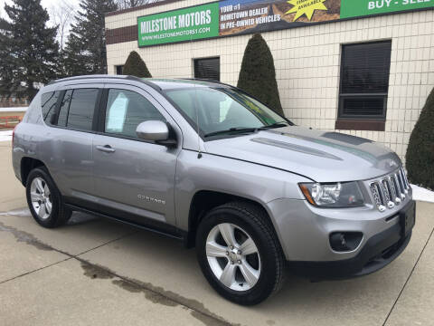 2016 Jeep Compass for sale at MILESTONE MOTORS in Chesterfield MI