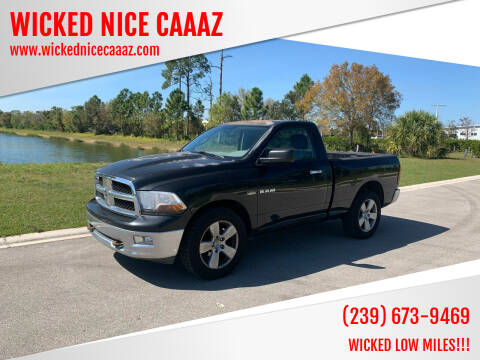 2010 Dodge Ram Pickup 1500 for sale at WICKED NICE CAAAZ in Cape Coral FL